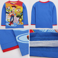Boy toy story clothing - Long sleeve Baby Boy shirts Blouse Autumn Clothes T shirt brands Toy Story Character printed Shirts