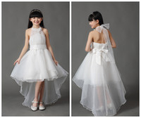 TuTu teen clothes - Y Kids Gauze pearl Tee dresses for teenage girls children Party wedding dress clothing for teens vestidos princess ball gown