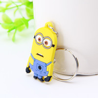 Wholesale KC0012 good quality funny Stuffed plush Despicable Me MINION cute toys good for childrens playing with other kids together