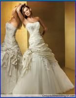 2010 wedding dresses - 2010 New Wedding Dress Wedding Apparel amp Accessories strapless sleeveless all Size FFF56