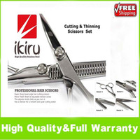 Wholesale Hair Cutting Thinning Scissors Hairdressing Shears Scissors Set CARBON Stainless Steel Hair Cutting Hairdressing Thinning