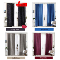 Wholesale New Coating blackout curtains for the bedroom living room printed modern thin cortina para sala