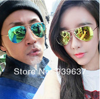 amber waves - Sunglasses women Colorful yurt new wave of people men s sunglasses star models Ray band