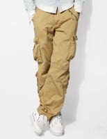 Men baggy boots - Mens Classic Matchstick Baggy Pants Slant Pocket Cargo Pants SZ