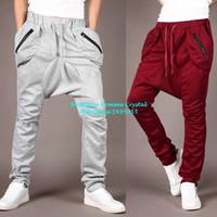 Men justin boots - SizeM XXL Cotton Pockets Fashion Harem Trousers Justin Bieber Pants Men Boys Sport Casual Pants Pantalonese Hombre