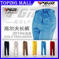 Men authentic clothing - New PGM Style Authentic Golf Trousers Male s Golf Pants Clothing For Men thin breathable summer Pants XS XXXL