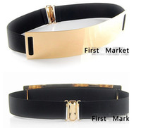 Wholesale new arrival Europe amp America gold metal mirror face belts for sexy women fashion Apparel Accessories