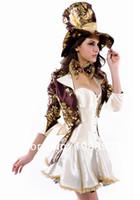 alice mad hatter - Alice In Wonderland costume women adult Mad Hatter costume halloween costumes for women Magician cosplay sexy fantasy Dress