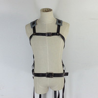 Men adjustable harness - Cosplay Costume Attack On Titan Shingeki no Kyojin Cosplay Belts Adjustable Harness Straps Retail