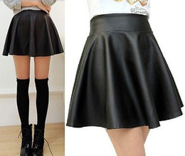 Leather Swing Skirt Online | Leather Swing Skirt for Sale