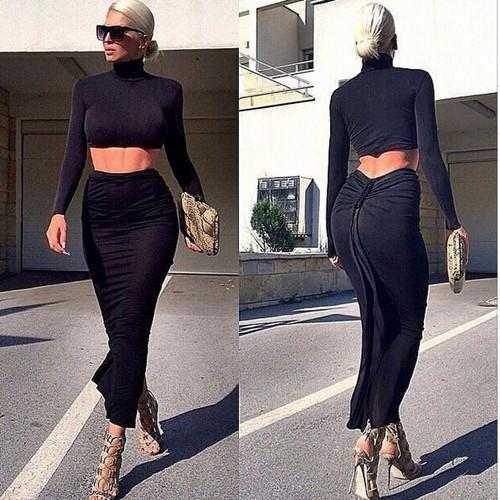 Cheap Tops High Waist Pencil Skirt | Free Shipping Tops High Waist ...