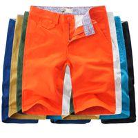 Wholesale Summer Fashion Mens Shorts Casual Sport Bermuda Masculina Leisure Outdoors beach Cotton Joggers Trousers Knee Length Shorts