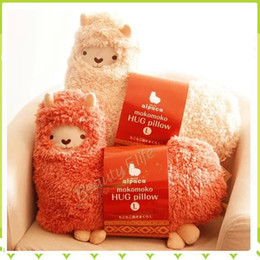 Wholesale Bolster Toy Aunt Merry Mokomoko Llama Alpaca Hug Pillow Cushion Doll One