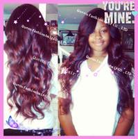 Black,#1,#1B,#2,#4,#6,#8,Natural Black silk top full lace wigs - New african americanwomen peruvian hair silk top full lace wig amp silk top front lace wig natural scalp color