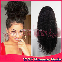 brazilian lace front wigs silk top full lace wigs - density natural black silk top glueless full lace wigs Brazilian hair amp Virgin lace front wig curly Human hair