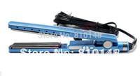 . bi box - Piece blue titanium hair straightener bi voltage without retail box
