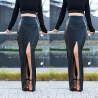 Cheap Ankle Length Leather Skirt | Free Shipping Ankle Length ...
