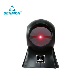 Wholesale-Freeship! Cost-effective!! High Quality 24 Lines Laser Desktop Flatbed Barcode Scanner Bar code Reader with USB Interface
