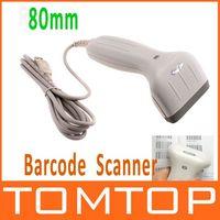 Wholesale ACAN Range Handheld USB Barcode Scanner mm USB Long CCD Barcode Sanner Bar Code Reader Top Quality
