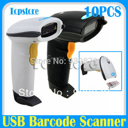 Wholesale Wired USB Hand Held Handheld Visible Laser Scan Barcode Bar Code Scanner Scan Reader