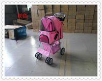 dog stroller - Mat pet stroller pet car dog car dog cart pet supplies