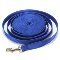 Wholesale M Blue Long Dog Puppy Pet Puppy Training Obedience Lead Leash recall
