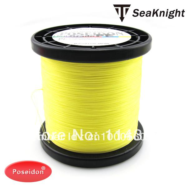 Wholesale poseidon pe 1000m braided fishing line 1000m 8lb for Bulk braided fishing line