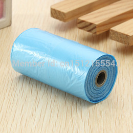 Wholesale rolls bags Pet Dog Garbage Clean up Bag Pick Up Waste Poop Bag Refills Home Supply