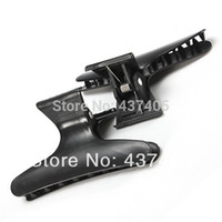 Wholesale Black Butterfly Hairdressing Hairdressers Hair Clamps Clips Claw Section Salon Styling Clip Tool