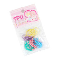 Wholesale New Arrival Small Children Rubber Band Hair Rope Mixing Colors A Section60369
