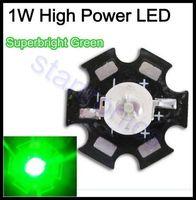 al mount - W High Power Led Green with Star AL base