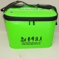 Wholesale Fishing Bags EVA Fishing Tackle Bag Waterproof Folding Different Specifications Fishing Bucket