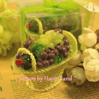 fruit gift baskets - H150 Grapes Red Wine Fruit Basket Candle Fashion Christmas home decor Gift Brithday wedding decoration Art
