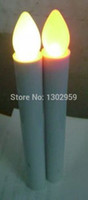 battery tapers - New arrivel sale yellow taper led candle use to weddings religious activities batteries not including