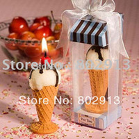 Wholesale Sweet Ice cream Candle mix order accepted wedding gift Christmas or valentine s day gift