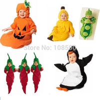 Unisex Spring/Autumn . Wholesale-Free shipping cute baby sleeping bag lovely Pea Banana Penguin Chili Pumpkin newborn infant spring autumn long-sleeves pajamas