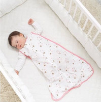 Unisex Spring/Autumn . Wholesale-Free shipping aden+anais Newborn baby Wraparound sleeping bag against Tipi pajamas Quality Safty sleeping blanket baby swaddle