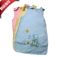 Unisex Spring/Autumn . Wholesale-2015 new Aden+anais Newborn baby Wraparound sleeping bag against Tipi pajamas Quality Safty sleeping blanket baby swaddle