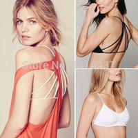 Wholesale New Sexy Women s Padded Bra Tank Tops Bustier Bra Vest Crop Top Bralette Blouse sexy Bras