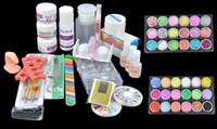 1 x Acrylic Powder (Pink) acrylic liquid - Acrylic Powder Liquid Primer UV Nail Art kit Tip Set Dust Stickers Brush dropshipping