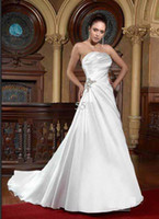 alexia bridal - A Line Wedding Dresses Delicate Sweetheart Taffeta Bridal Gown fast shipping Alexia