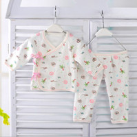 bebe tracksuits - set Spring New Baby cartoon cotton underwear suit tracksuit bebe cartoon underwear infintl clothes