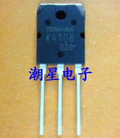 Field-Effect Transistor . 2SK4108 Wholesale-10PCS free shipping K4108 2SK4108 TO-3P 20A500V FET electric welding machine used switching regulator 100% new original
