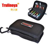 Wholesale High Quality Trulinoya Waterproof Fishing Bag Spinner Spoon Metal Lure Storage Handbag Fishing Tackle Bag
