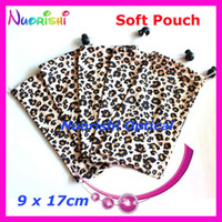 Women bags spectacles - Leopard Painting Microfibre Soft Sunglass Glasses Eyewear Spectacle Eyeglass Case Pouch Bag CP033