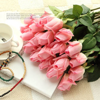 Wholesale Fresh rose Artificial Flowers Real Touch rose Flowers Home decorations for Wedding Party or Birthday
