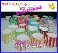 bake nuts - Paper Polka Dot Stripe party Baking cupcake liners muffin cups Ice cream cups Candy Nut cups YOU PICK COLORS SAVE