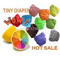 Wholesale quot Happy Flute quot Tiny New Born AIO Baby kids Cloth Diaper With