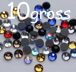 1440pcs Assorted Hot Fix Glass Rhinestones 16SS 4mm 10gross