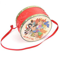 bell band - S105 quot set Kids Toy Gift Set Roll Drum Musical Instruments Band Drum Sand Hammer Bell Kit